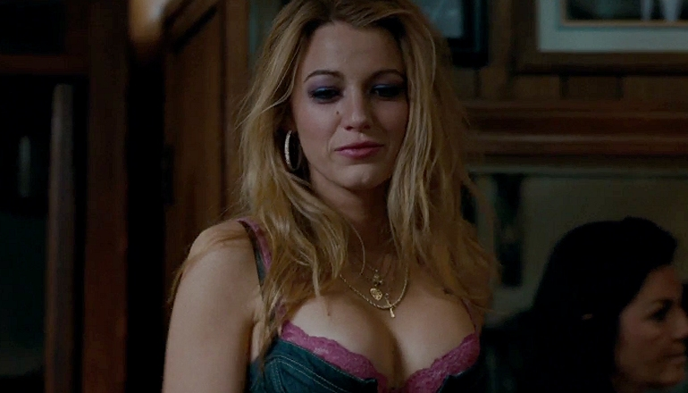 What changed blake lively's mind about doing a nude scene